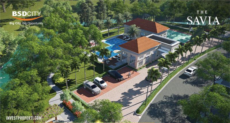 Club House Perumahan Savia BSD