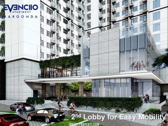 Evenciio Apartment Margonda 2nd Lobby