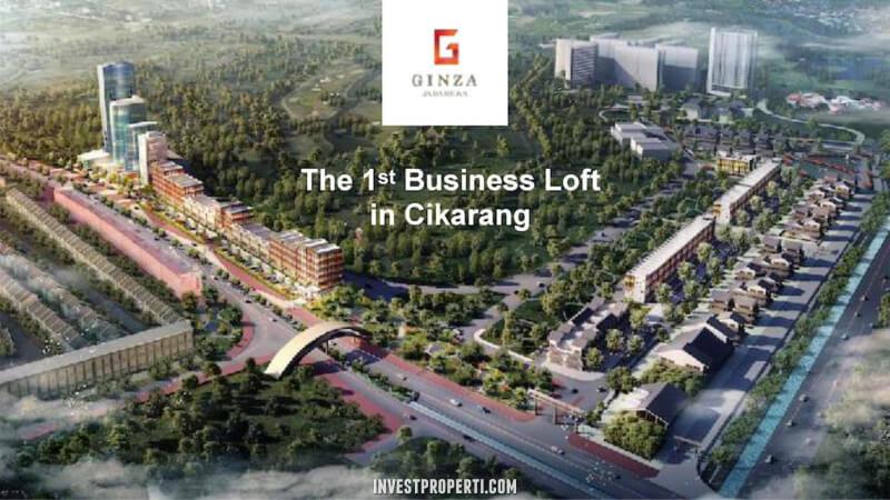 Ginza Jababeka 1st Business Loft Cikarang