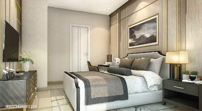 Interior Design Bedroom Rumah Visana Savia BSD