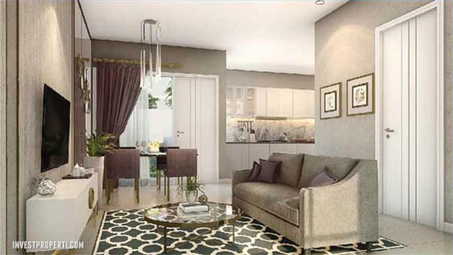 Interior Design LivingRoom Rumah Visana Savia BSD