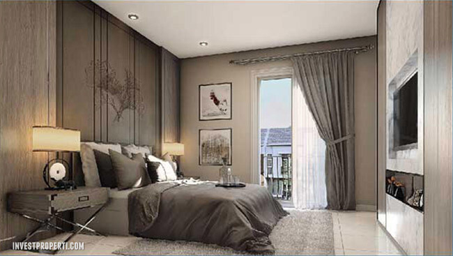 Interior Design Master BedRoom Rumah Visana Savia BSD