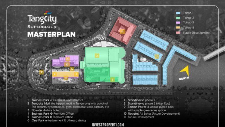Master Plan TangCity Superblock Tangerang