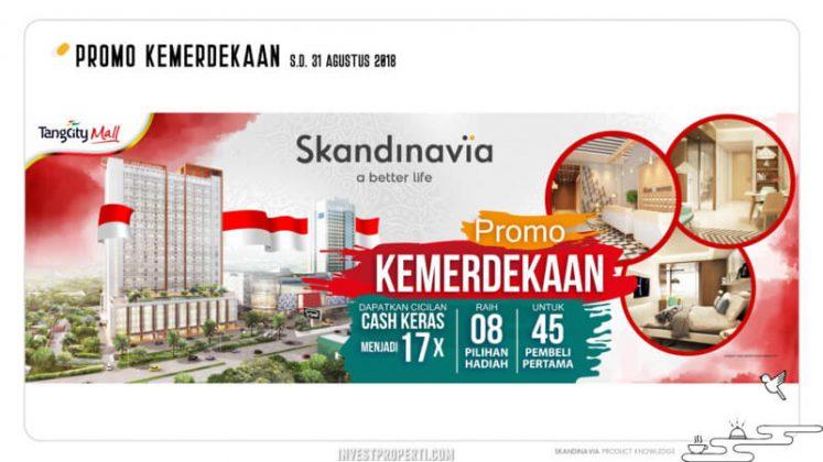 Promo Merdeka Apartemen Skandinavia 2018