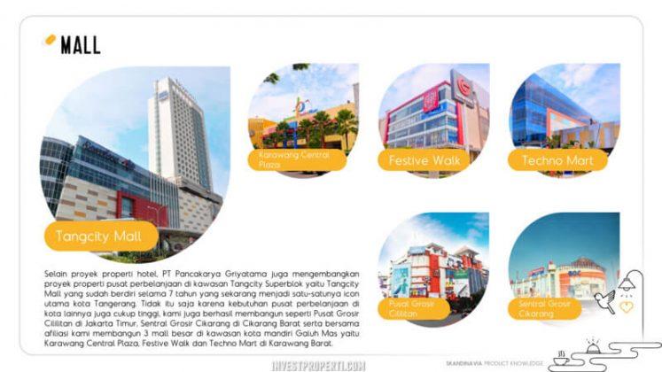 Proyek Mall PT Pancakarya Griyatama
