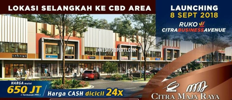 Ruko Citra Business Avenue Maja Raya