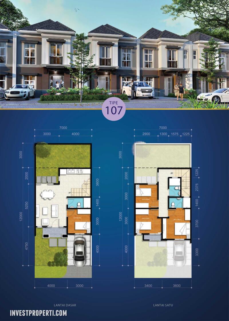 Rumah Visana @ Savia BSD Tipe 107