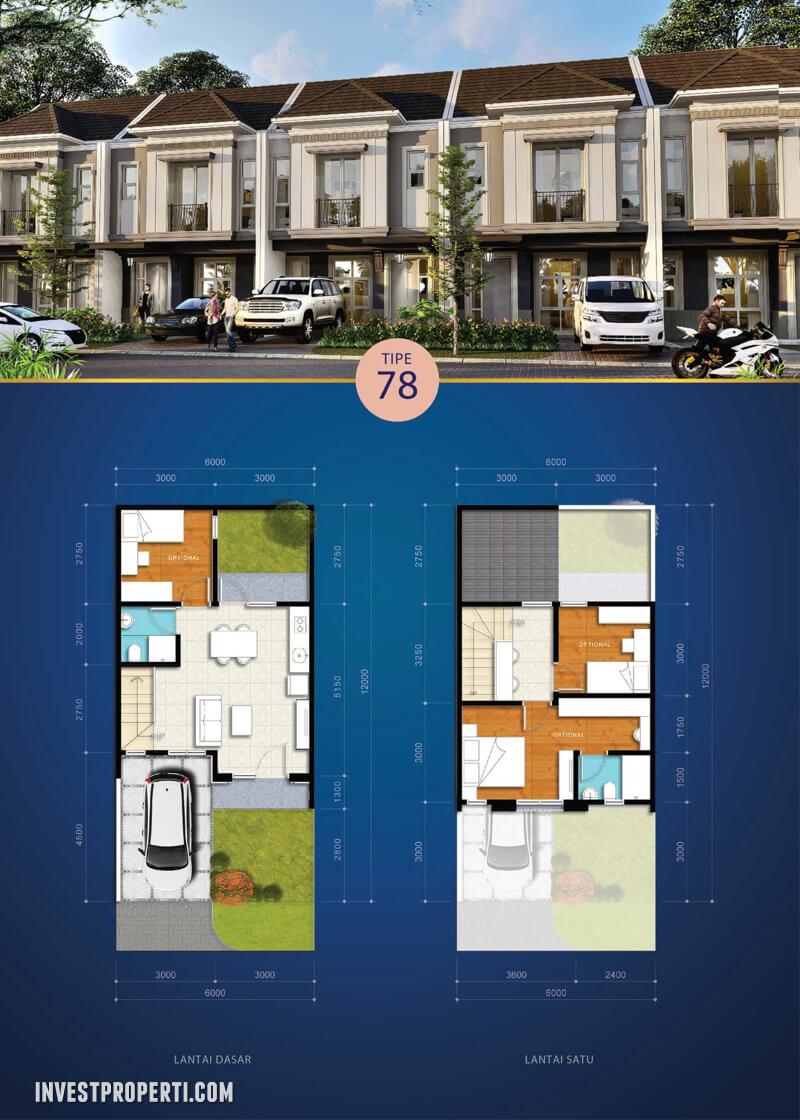 Rumah Visana @ Savia BSD Tipe 78