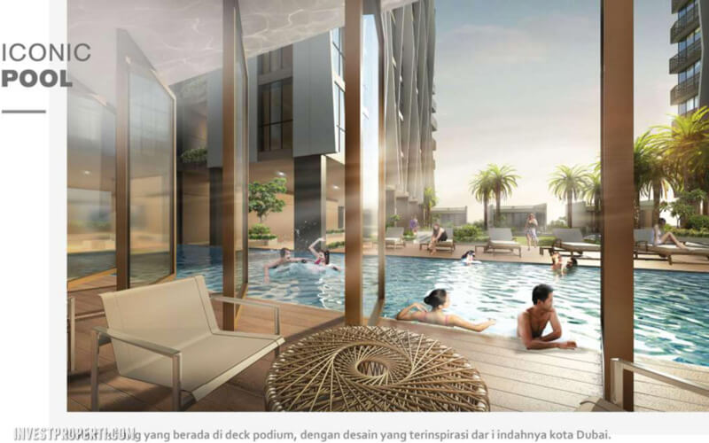 The Burj Alam Sutera Pool