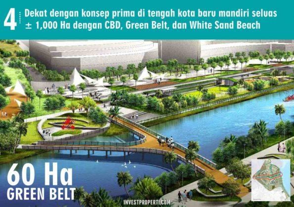 60 Ha Green Belt PIK 2 Jakarta