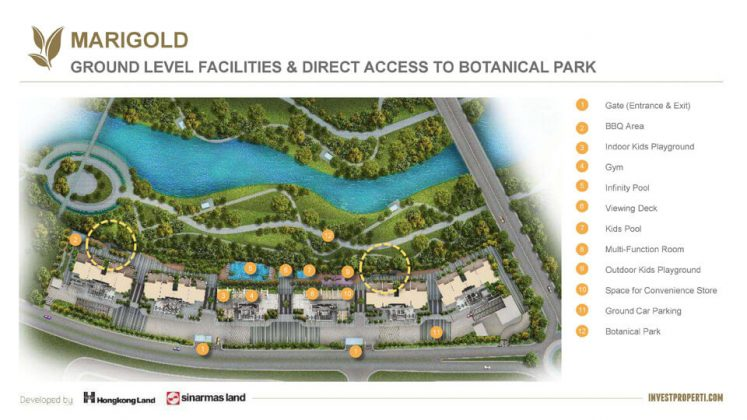 Apartemen Marigold BSD Direct Access Botanical Park