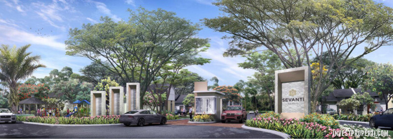 Gate Cluster Sevanti Homes SEKAR