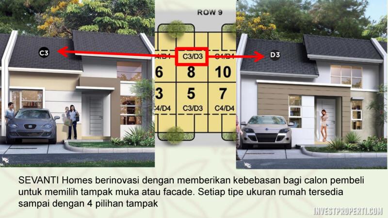 Facade Rumah Sevanti Homes SEKAR