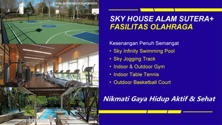 Fasilitas Sport Sky House Alam Sutera