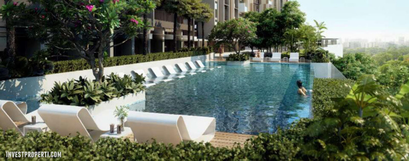 Infinity Pool Marigold Apartment BSD