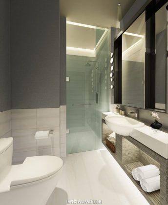 Interior Design Bathroom Rumah Savasa 7x12