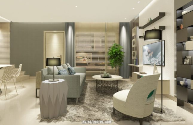 Interior Design Living Room Rumah Savasa 7x12