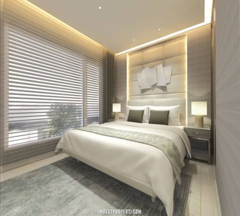 Interior Design Master Bedroom Rumah Savasa 7x12
