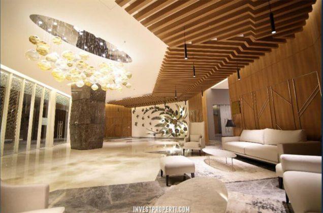 Lobby Apartemen Kensington Kelapa Gading