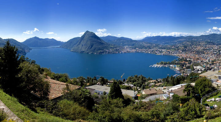 Lugano Lake Switzerland