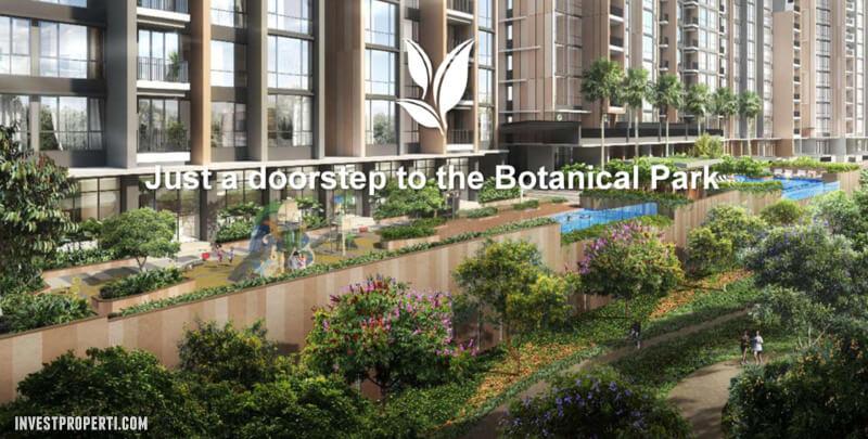 Marigold Apartment BSD Doorstep to Botanical Park