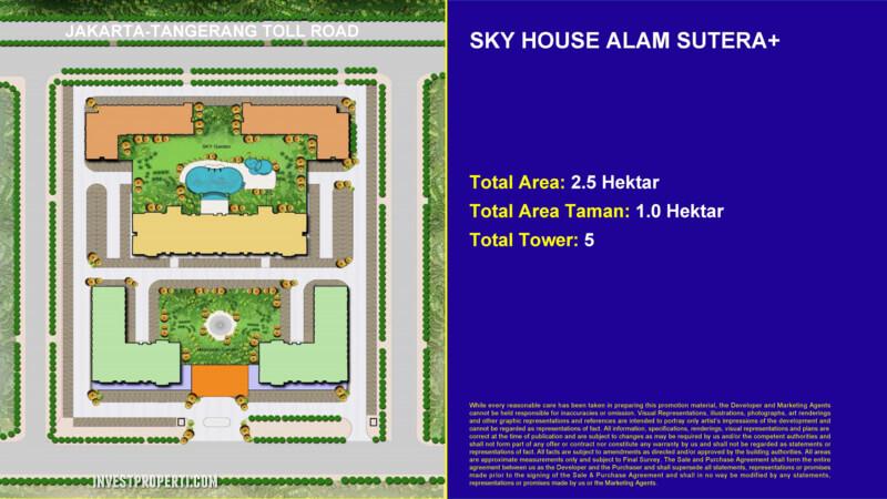 Master Plan Sky House Alam Sutera