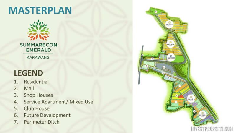 Master Plan Summarecon Karawang