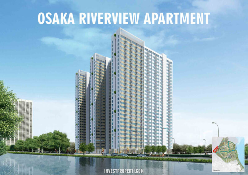 Osaka Riverview Apartment PIK 2