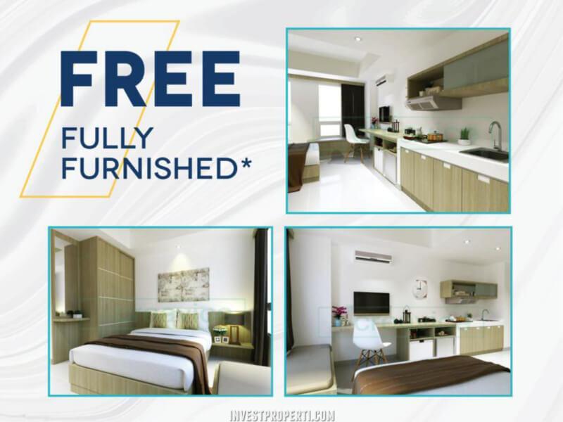 Promo Free Furnished Apartemen Chadstone Cikarang