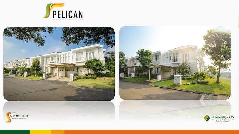 54 Gambar Rumah Cluster Pelican Gratis Terbaik