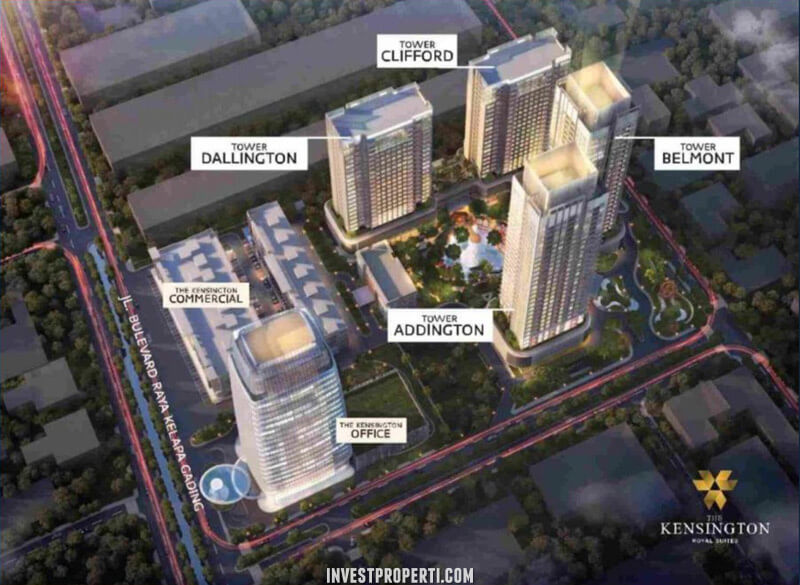 The Kensington Kelapa Gading Apartment