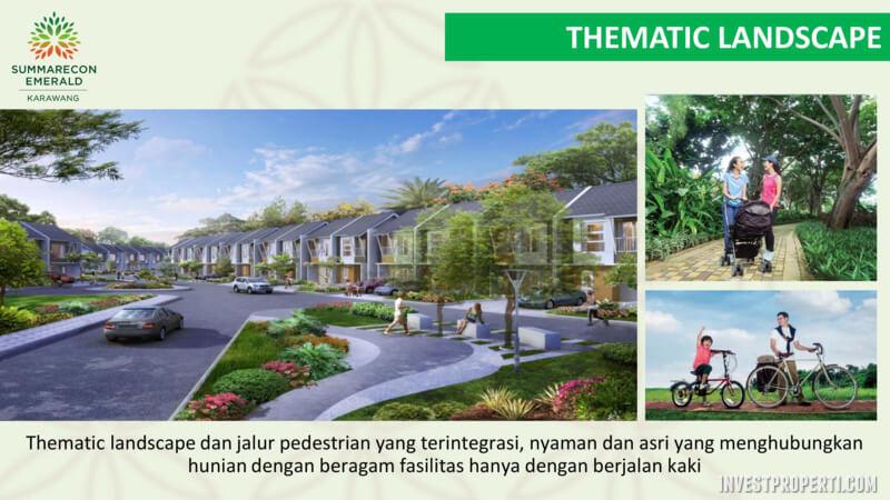 Thematic Landscape Rumah SEKAR