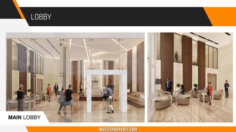Vittoria Apartemen Lobby
