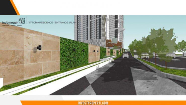 Vittoria Residence Jakarta Apartment Pedestrian