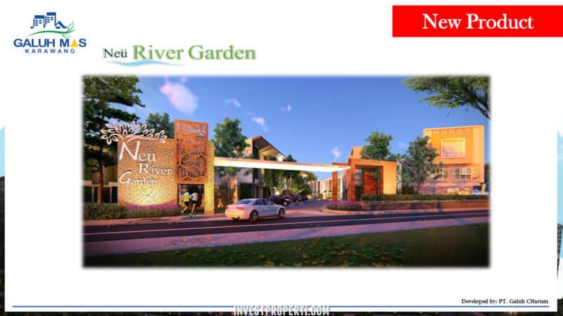 Cluster Neu River Garden Galuh Mas