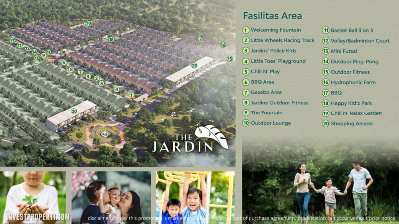 Fasilitas Cluster The Jardin Forest Hill