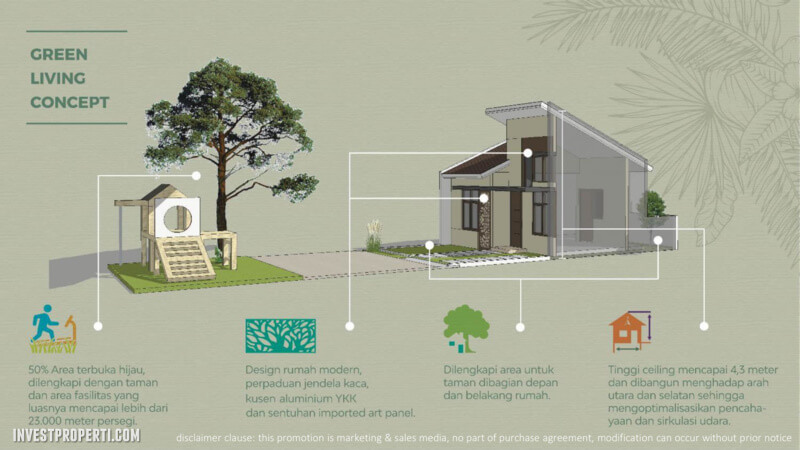 Green Living Concept Cluster The Jardin Forest Hill