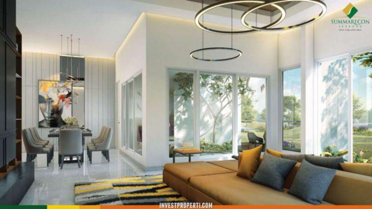 Interior Rumah Mozart Symphonia Serpong - Living Room