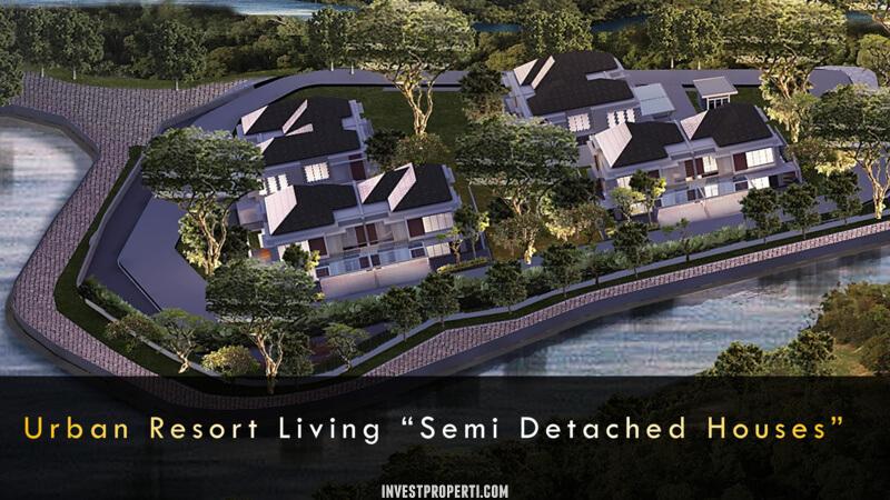 Lokasi Private Cluster Riviera at Puri Tipe D