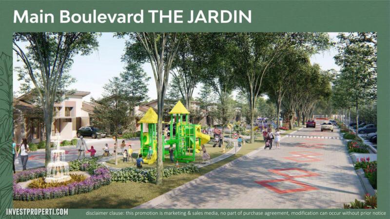 Main Boulevard The Jardin Parung Panjang