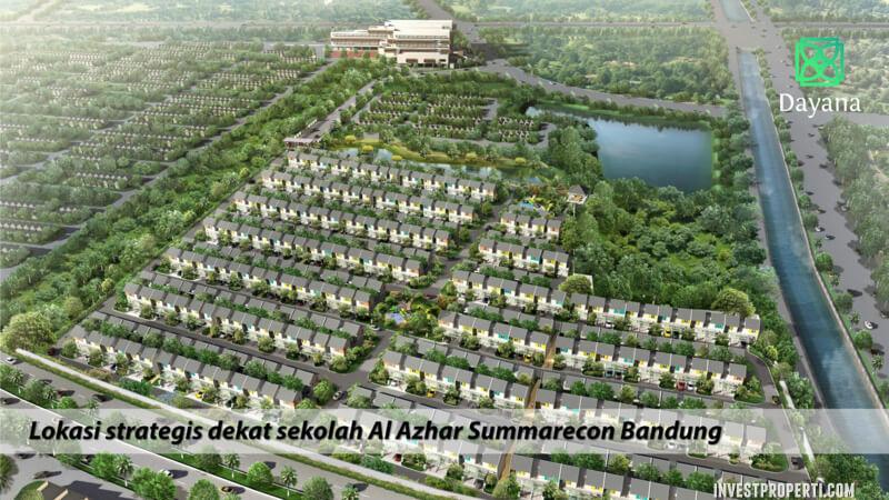 Perumahan Cluster Dayana Summarecon Bandung