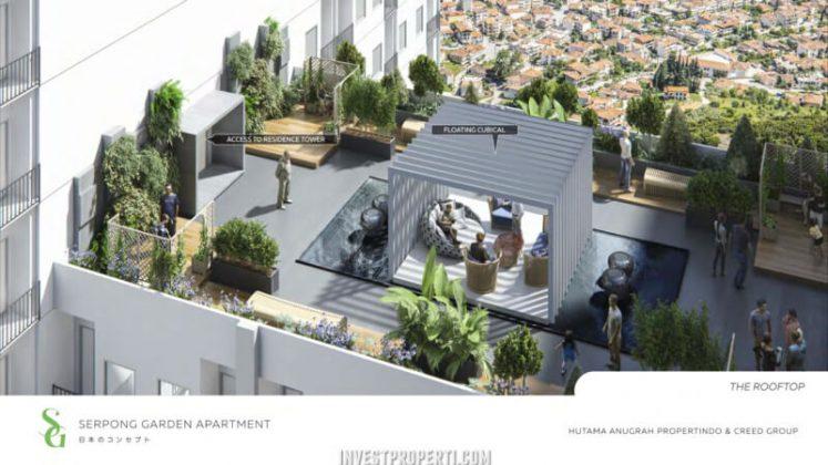 Rooftop Serpong Garden Apartment