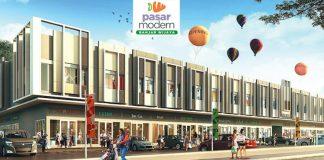 Ruko Pasar Modern Banjar Wijaya
