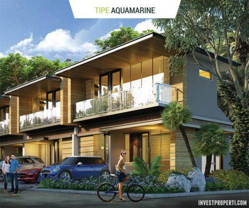 Rumah Cluster Agate GoldenStone Serpong Tipe Aquamarine