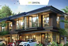 Rumah Cluster Agate GoldenStone Serpong Tipe Crystal