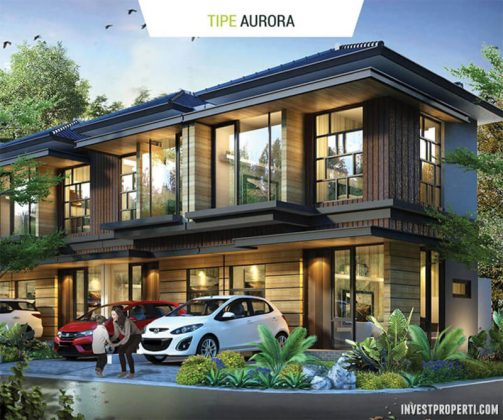 Rumah Cluster Agate GoldenStone Serpong Tipe Aurora