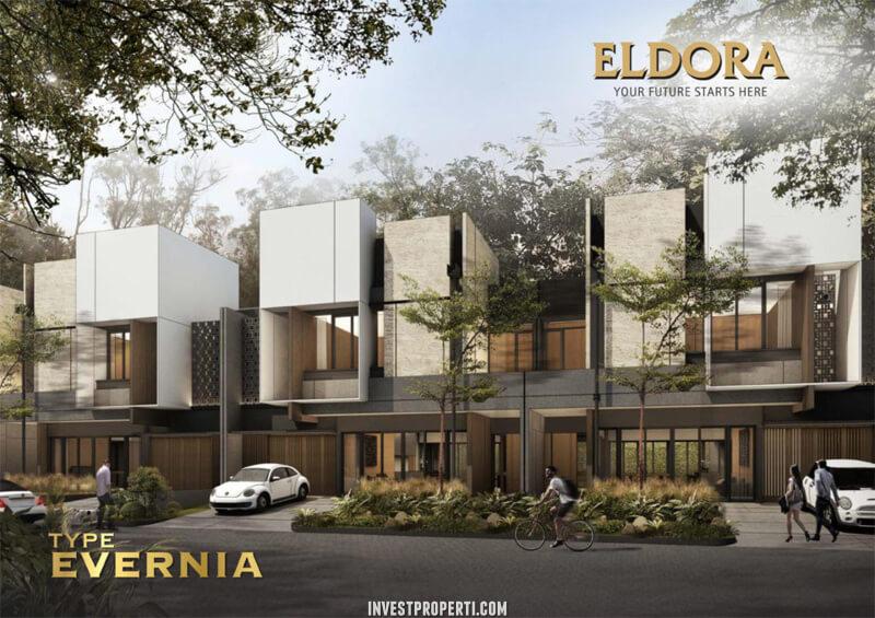 Rumah Cluster Eldora Suvarna Sutera Tipe Evernia