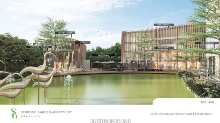 Serpong Garden Apartment Lake