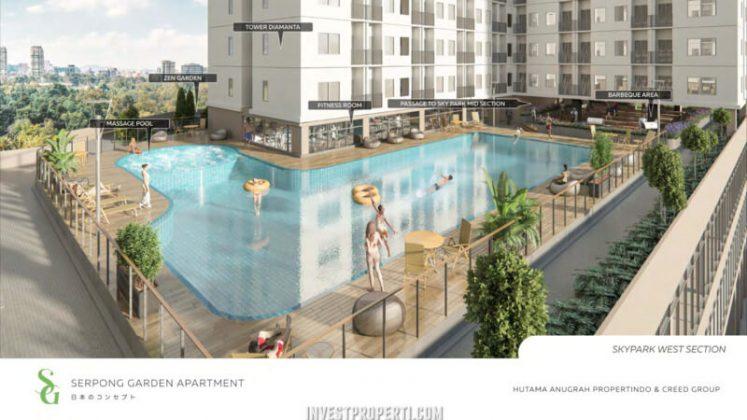Serpong Garden Apartment Swimming Pool