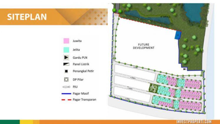 Siteplan Rumah Cluster Dayana Summarecon Bandung